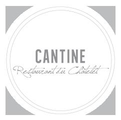Logo Cantine Châtelet | Restaurant - Wine Bar - Hôtel